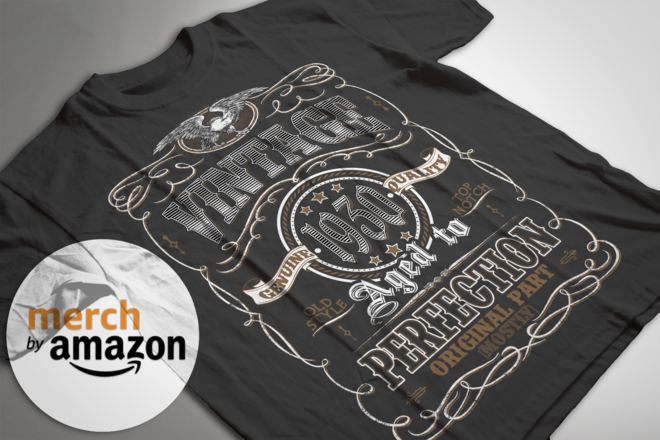 T-shirt Design for Merch by Amazon and Print on demand POD | Jungle