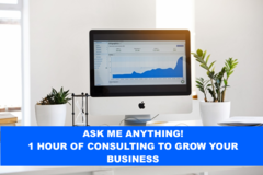 Package: 1 Hour Of Consulting For Amazon Business - Ask Me Anything!