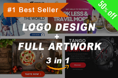 Package: Best Value Logos, Infographics & Packaging + Bonus