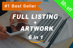 Package: Best Value Full Listing Optimization + Artwork + Keywords