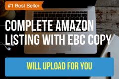 Package: Full Amazon Listing & EBC Copy with Seller Central Upload