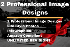 Package: 2 Epic Image Designs | Amazon Main/lifestyle image