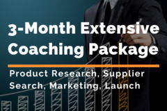 Package: 3 Month Extensive Private Label Coaching | Ultimate Package
