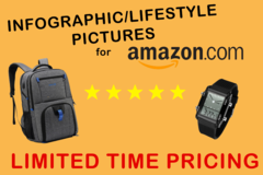 Package: 1 Infographic/Lifestyle photo for Amazon