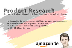 Package: 1 Winning Product for GERMAN Marketplace