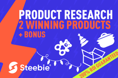 Package: Custom order Product Research 2 Winning Products to Dominate