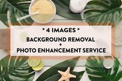 Package: AMAZON Professional Background Removal - 4 images