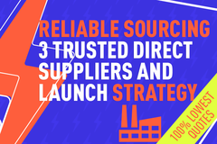 Package: PRODUCT SOURCING – TRUSTED FACTORIES + PRODUCT STRATEGY