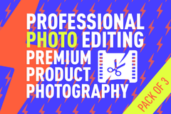 Package: Professional Photo Editing - Luxury Look Of Your Product