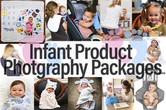Package: Infant Product Photography Custom Packages
