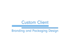 Package: CUSTOM CLIENT - Branding and Packaging Design