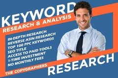Package: Professional Amazon PPC Keyword Research & SEO Title Service