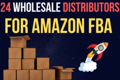 Package: 24 Wholesale Distributor List for Amazon FBA Sellers