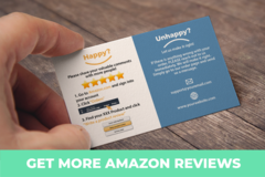 Package: Get More Reviews with THANK YOU/ FEEDBACK CARD INSERT