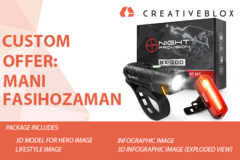 Package: Custom Job Offer: Mani Fasihozaman | QC3 Car Charger