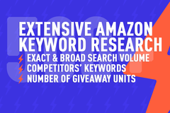 Package: Extensive Keyword Research - Competitors' Research - 500+ KW
