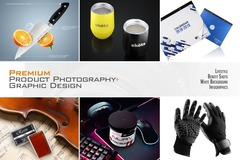Package: Premium Product Photography-Lifestyle Images-Graphic Design