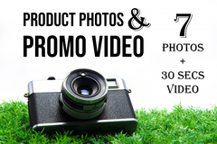 Package: Product Photography + Promo Video