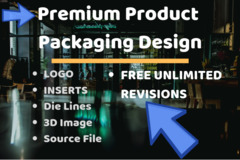 Package: ALL INCLUSIVE Product Packaging Design | INSERTS + LOGO