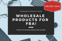 Package: Wholesale Product Leads + Wholesale Ordering Info