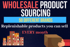Package: 50 Wholesale Product Leads To RESELL for FBA Business