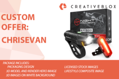 Package: Cutom Job Offer: ChrisEvan | Packaging & Amazon Images