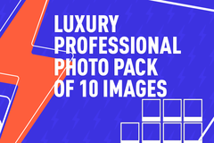 Package: Ultra Professional Lifestyle Photography With Model