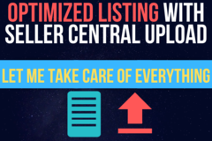 Package: Best Selling Listing with Seller Central Upload Done For You