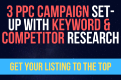 Package: 3 PPC Campaign Set-Up with Keyword & Competitor Research