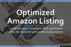 Package: Optimized Amazon Listing with Keyword Research