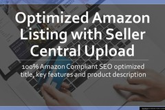 Package: Optimized Amazon Listing with Seller Central Upload