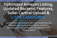 Package: Optimize Listing, Back-end Features, SC Upload, & 2 PPC Camp