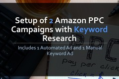 Package: Setup of 2 Amazon PPC Campaigns with Keyword Research