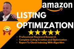 Package: Professional Amazon Listing Creation And Optimization