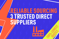 Package: CUSTOM PRODUCT SOURCING – DIRECT SUPPLIER | BEST PRICING