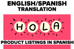 Package: Spanish/English Translation and SEO