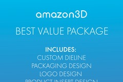 Package: VALUE PACKAGE ( LOGO, PACKAGING, DIELINE & INSERT CARD )