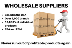 Package: Wholesale Suppliers - 1,000's of brands over 10,000 products