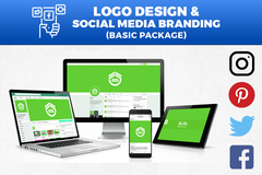 Package: Logo Design & Social Media Branding Package (Basic)