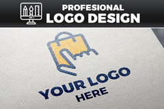 Package: Professional Logo Design + Photorealistic Mockup
