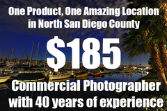 Package: Single Product North County San Diego Location Shoot