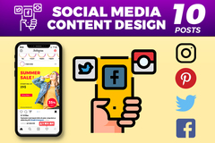 Package: Social Media Post Design Package (10 Posts)