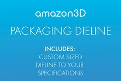 Package: AMAZON PRODUCT PACKAGING DIELINE
