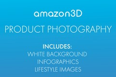 Package: 4 Images ( White Background + Infographic + Lifestyle )