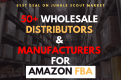 Package: 50+ Verified List of Wholesale Distributors & Manufacturers
