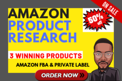 Package: 3 Winning Products: 10,000+/month, Full Report, High Demand
