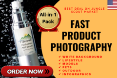 Package: DOMINATE THE MARKET with Professional Product Photography