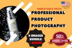 Package: COMPLETE PHOTOGRAPHY PACKAGE: 9 Images + Bonus