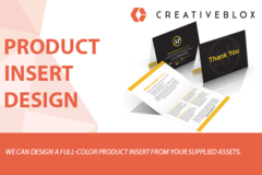 Package: Product Insert Design