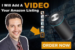 Package: Add a VIDEO to your FBA listing - NEXT TO YOUR PHOTOS!